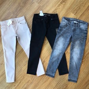 3 pairs of Gymboree jeans